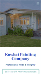 Mobile Preview of kowhaipainting.co.nz
